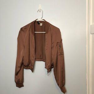 Jackets & Blazers - Bomber Jacket (shiny)